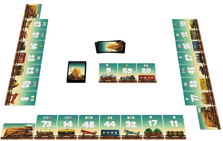 桌游《迷途小火车》图片