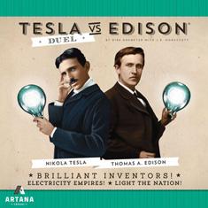 好玩桌游推荐-特拉斯与爱迪生:电流战