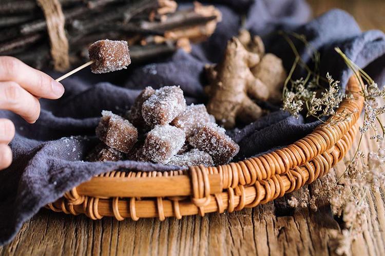 零食《姜汁软糖》图片