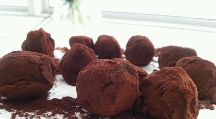 零食《松露巧克力》图片